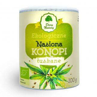 Kanapių sėklos, lukštentos Eko 100g