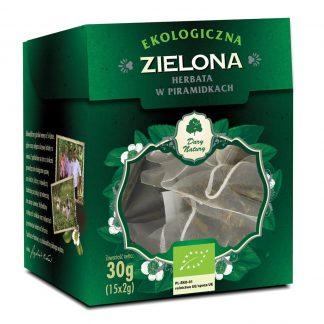 Žalioji Ceilono arbata Eko 15x2g piramidėse