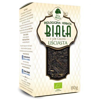 Baltoji Ceilono arbata Eko 80g