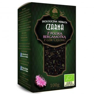 Juodoji Ceilono arbata su lenkiška bergamote Eko 100g
