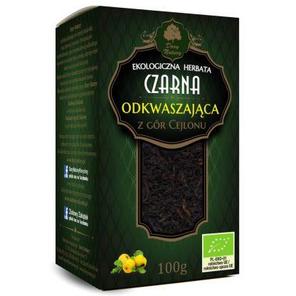 Juodoji Ceilono šarminanti arbata Eko 100g