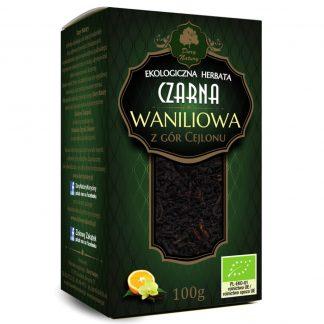 Juodoji Ceilono vanilinė arbata Eko 100g